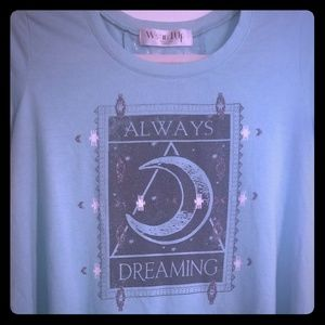 Wound Up dreaming shirt